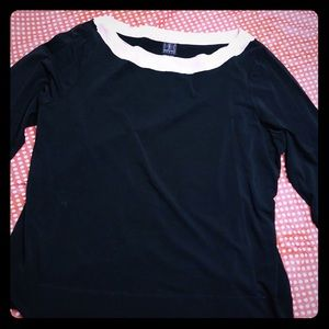 INC woman 3/4 sleeve top